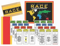Amazing Race Youth Activity – smileifyou'rehappy Mutual Activities, Youth Group Activities, Young Women Activities, Church Activities, Youth Groups, Summer Activities, Party Activities, Indoor Activities, Youth Group Lessons