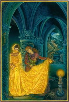 The Lady and the Lion Illustrated by Laurel Long