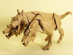 Cerberus the three headed guard dog of the Greek underworld