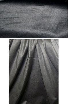 NY designer 'waxed' cotton twill - gunmetal from EmmaOneSock.com