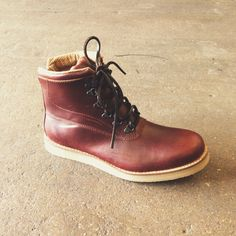 Our Billy-Bob full leather boot, features a built up wedge sole and square cut leather laces Leather And Lace, Leather Shoes, Goodyear Welt, Perfect Man, Streetwear Fashion, Hiking Boots, Men's Shoes, Street Wear, Mens Fashion