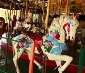 Balboa Park Carousel, San Diego, CA  you gotta try for the brass ring at least once!
