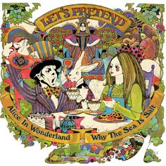 TG106-Wonderland-SeaSalt.jpg (800×805)   Let's Pretend (Children's Records): Fairy Tales by David Chestnutt