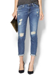 AG Adriano Goldschmied The Stilt Cigarette Jeans - 17 year riot