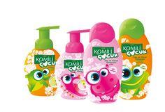 Kids soap Kids Packaging, Cosmetic Packaging, Packaging Design, Childrens Logo, Food Pack, Cosmetic Bottles, Cosmetic Design, Personal Hygiene, Packaging
