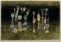 Paul Klee, Comedy, 1921