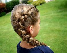 easy braids for kids