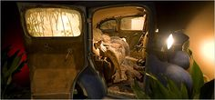 Kienholz - Back Seat Dodge - Los Angeles County Museum of Art - New York Times Edward Kienholz, Dope Art, Back Seat, Abstract Sculpture, Art And Architecture, Installation Art, All Art, Art Museum, Dodge