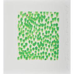DONALD SULTAN-GREEN CALLA (WALL FLOWERS)-POPARTGALERIEFLUEGELRONCAKNUREMBERG