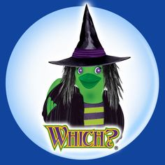 Be Which? For Halloween - halloween witch duck