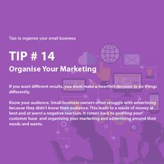 Business Tips, Knowing You, Advertising, Marketing, How To Make