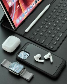 The AirPods Pro are the most loved true wireless earbuds these days and some of the best on the market Iphone Macbook, Iphone 11, Apple Iphone, Iphone Cases, Apple Smartphone, Apple Laptop, Cool Electronic Gadgets, Electronics Gadgets, Cool Gadgets