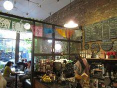 cute vibe inside picture of small point cafe providence tripadvisor - Purple Cafe Ideas