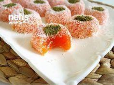 Turkish Delight with Carrot- Havuçlu Lokumlar Turkish Delight with Carrot - Heart Healthy Desserts, Healthy Dessert Recipes, Delicious Desserts, Yummy Food, Turkish Sweets, Bithday Cake, Strawberry Banana Smoothie, Turkish Delight, Food Labels