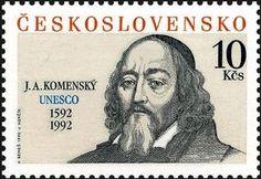 Jan Ámos Komenský (Comenius), Educator Czech Republic, European Countries, Image, Stamps, Portraits, Art, Models, Childhood, Learning