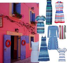 TerraCoquetta: Best stripe dresses
