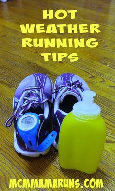 Hot Weather Running Tips #trainwithKohls