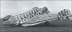 Kalinin K-12 (VS-2) 'Zhar-ptitsa' (1936) Soviet prototype of flying wing medium bomber  Калинин К-12 Жар-птица