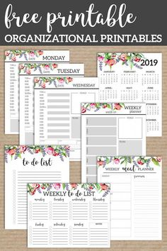 Floral Monthly Planner Template Pages Free Printable. Printable day planner page… Floral Monthly Planner Template Pages Free Printable. Printable day planner pages with coordinating flowers. Printable planner pages. Printable Day Planner, Monthly Planner Template, To Do Planner, Printable Paper, Happy Planner, 2015 Planner, Blog Planner, Schedule Printable, Menu Planning Printable