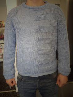Κουβαράκι: Πλεκτό πουλόβερ αντρικό