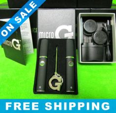 NEW IN BOX! Grenco Science Micro G Pen Wax Dab Vaporizer Kit TWO microG PENS