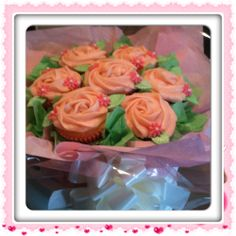 Mothers Day / Mothering Sunday Cupcake Bouquet
