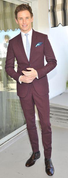Suit Porn Provided By GQ's Best Dressed Man Eddie Redmayne