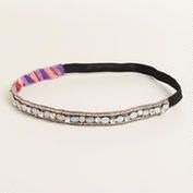 Our feminine Blue Stone Elastic Headband features sparkling rhinestones, soft periwinkle-colored stones and a border of gold seed beads. Periwinkle Color, Elastic Headbands, Pretty Hairstyles, Boho Jewelry, Hair Pins, Seed Beads, Beaded Bracelets, Stone, My Style