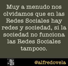 Las Redes Sociales y la Sociedad #citas #quotes #socialmedia