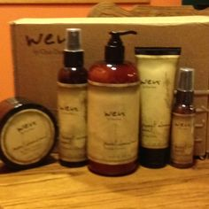 Wen hair products by Chaz Dean! Amazing product