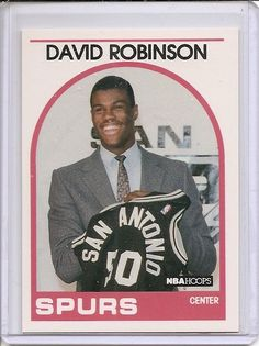 david robinson 1989-90 #NBA hoops #138 sp rookie card rc #NBA spurs hofer !! from $1.49