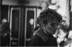 """Helena Christensen """" Walking """" by Peter Lindbergh Vogue Italia October 2016 Peter Lindbergh, High Fashion Photography, Urban Photography, Editorial Photography, Glamour Photography, Photography Magazine, People Photography, Lifestyle Photography, Portrait Photography"""