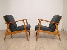 Fauteuils design scandinave 1960