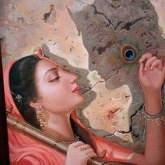 Shree krishna and meera Krishna Statue, Baby Krishna, Cute Krishna, Lord Krishna Images, Radha Krishna Pictures, Radha Krishna Photo, Radha Krishna Love, Radhe Krishna, Shree Krishna