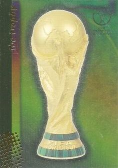 2002 Panini World Cup #1 FIFA World Cup Trophy Front