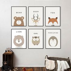 Hygge North Animal Friends Print Collection