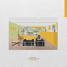 Rogers House / Richard & Su Rogers // 1968 - by Carla Martinez Sastre Interior Design, House, Instagram, Blue Prints, Nest Design, Home Interior Design, Home, Interior Designing, Home Decor