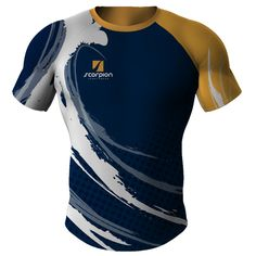 8267079a775 Rugby Shirts stock patterns or customised with your own rugby club design,  Available from Scorpion Sports