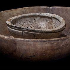 old wood bowls.