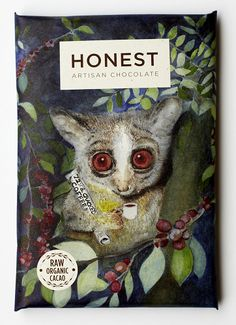 Honest Chocolate's new packaging features art by local South African artists