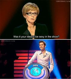 ...best Weakest Link moment ever...or is this David Tennant in places he shouldn't be?