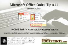 Microsoft Office Tip | What's YOUR legacy?  AmericasFootprints.com