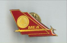 MEA Middle East Airlines Tail Pin