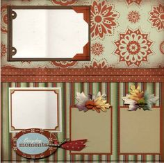 Scrapbook Page Layouts | Scrapbook Layouts - Over 130 : Stampin' Up! Apple Cide Paper page-2