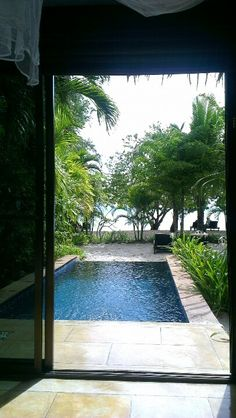 View from the pool villa at The Paradise Koh Yao.