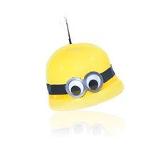 Don't be missed in this Minions yellow hat by Piers Atkinson. | Minions Bello Yellow Collection | See Minions in theaters July 10th.