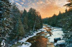 Blackwater River Virginia | Blackwater River Sunrise - ID: 13675781 © Ed ... | West Virginia: Th ...