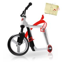 Rakuten: Scooter & push bike (red / green)- Shopping Japanese products from Japan