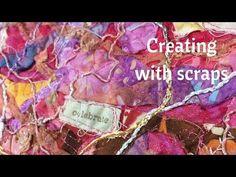 Using My Scraps to Create New Fabric - YouTube