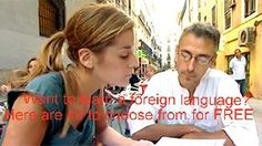 Learn 40 different languages FOR FREE!  Courses, phrases, audio, video, vocab, pronunciation, grammar, activities and tests...FREE!